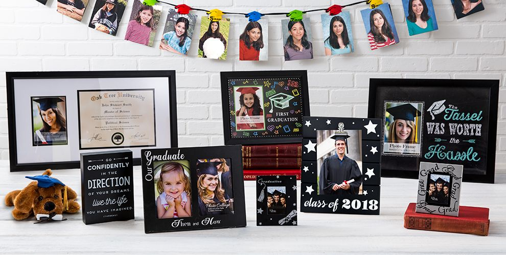 Graduation Photo Frames & Albums — Congrats Grad 2017
