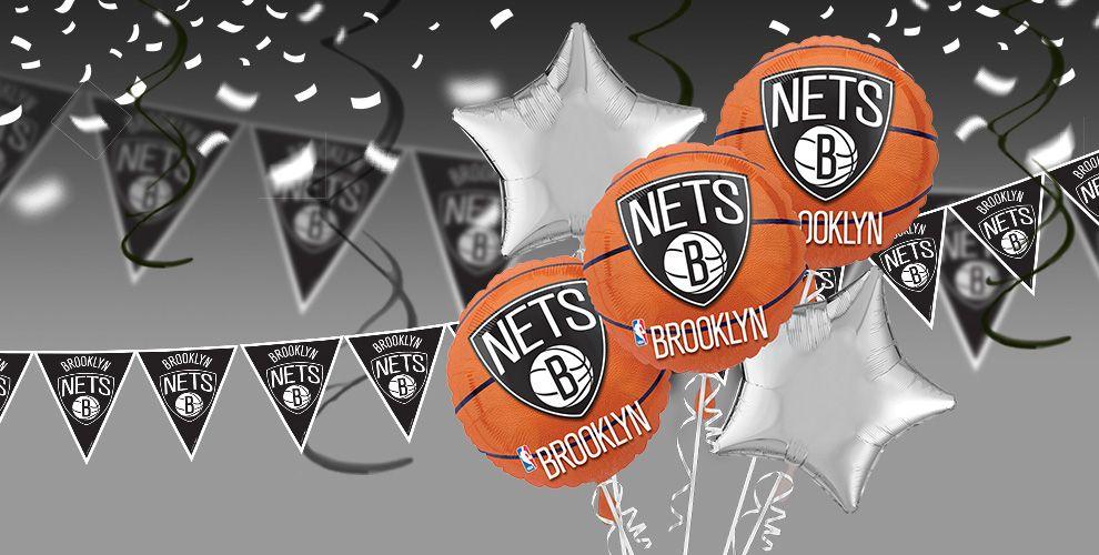 NBA Brooklyn Nets Party Supplies