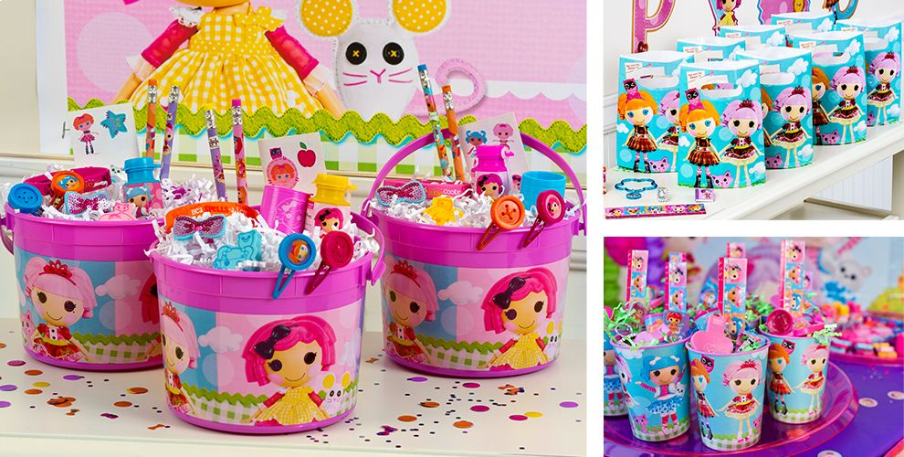 Toys From Party City : Lalaloopsy party favors sticker jewelry stationery