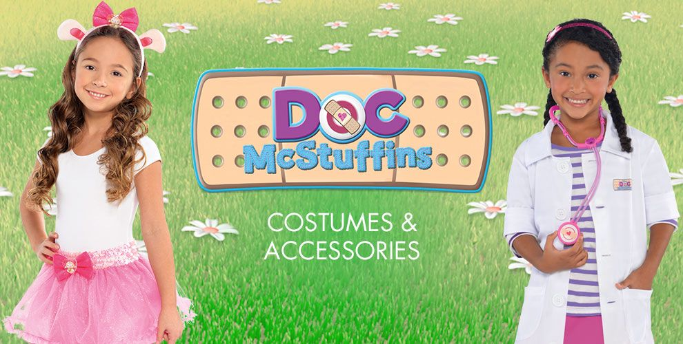 Doc McStuffins Party Supplies – Shop Costumes