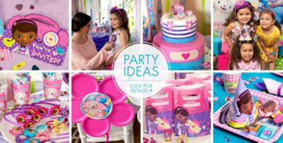 ... Doc McStuffins Party Supplies \u2013 Party Ideas  sc 1 st  Party City & Doc McStuffins Party Supplies - Doc McStuffins Birthday Ideas ...