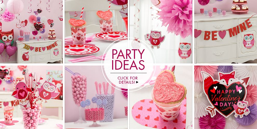 Valentine's Day – Party Ideas, Click For Details!