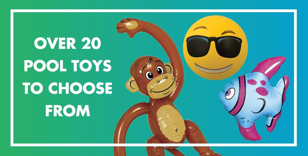 Over 20 Pool Toys to Choose From