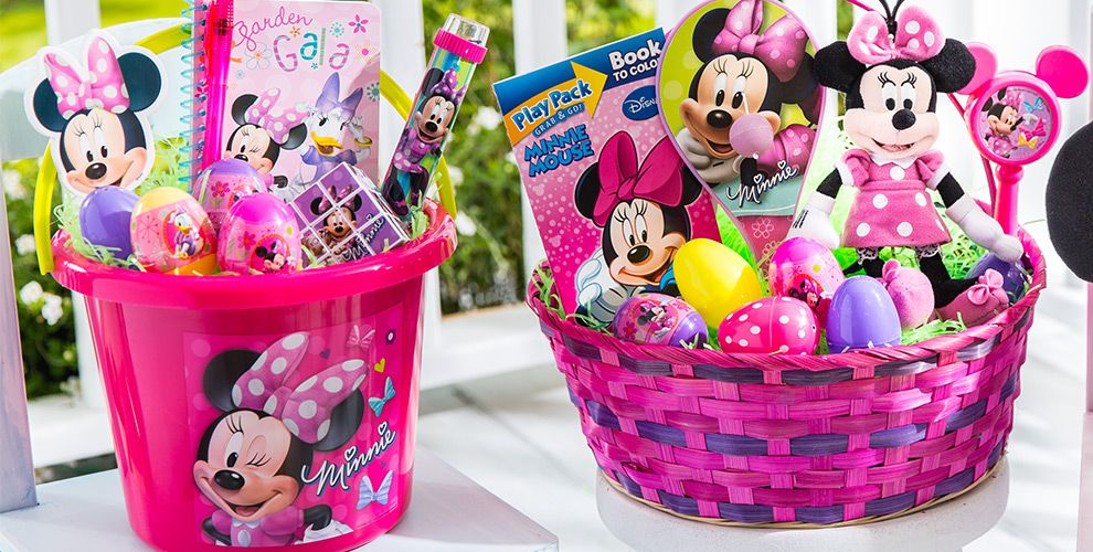 Build your own minnie mouse easter basket party city build your own minnie mouse easter basket negle Images