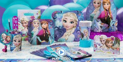 Frozen Party Supplies ...  sc 1 st  Party City & Frozen Party Supplies - Frozen Birthday Party Ideas | Party City