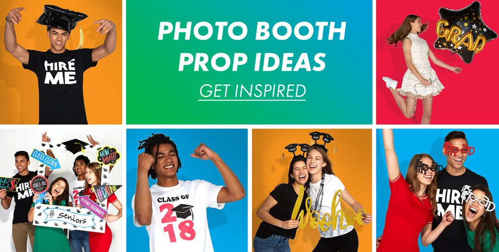 Graduation Photo Booth Prop Ideas