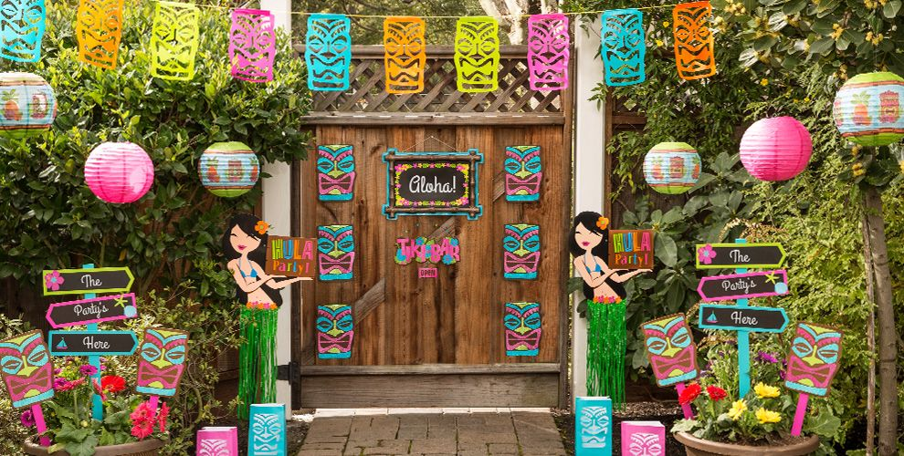 Luau Decorations Hanging Amp Wall Decorations Party City