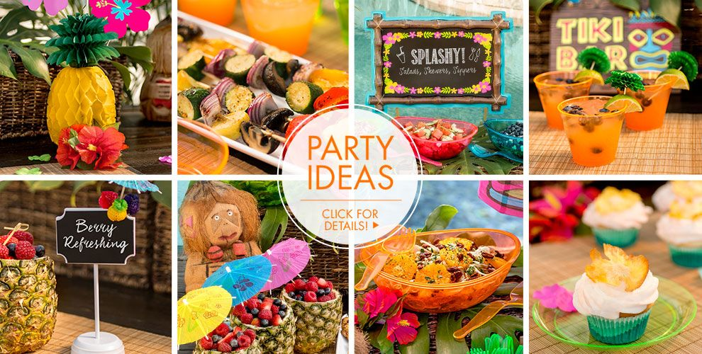 Palm Leaf Party Ideas, Click For Details!