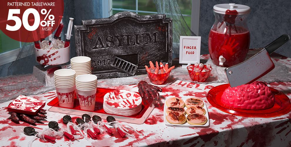 Asylum Halloween Decorations