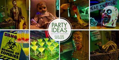 Elegant ... Zombie Halloween Decorations U2013 Party Ideas