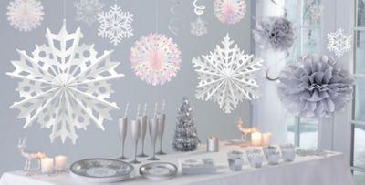 Silver Winter Wonderland Theme Party Winter