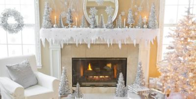 Beautiful Winter Wonderland Decorating Ideas For Christmas Part - 8: Silver Winter Wonderland Theme Party; Silver Winter Wonderland Theme Party  ...