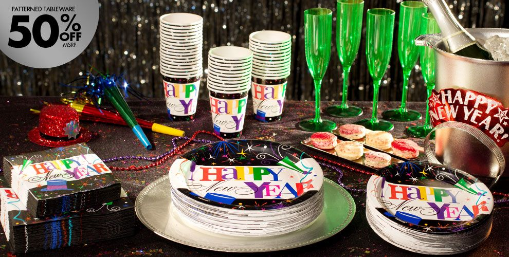 Ring in the New Year Party Supplies