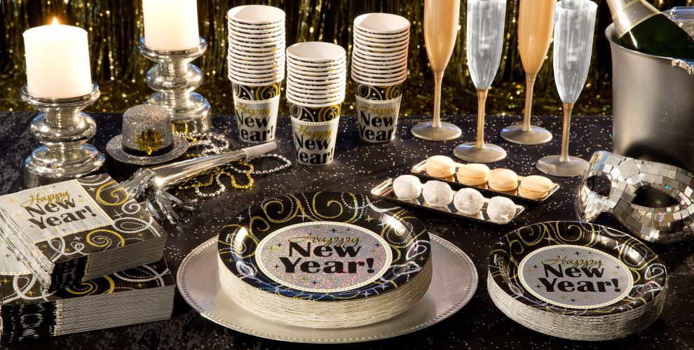 Sparkling New Year Party Supplies