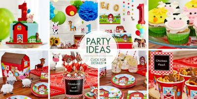 Christmas 1st Birthday Party Ideas Part - 36: ... Farmhouse Fun First Birthday Party Ideas