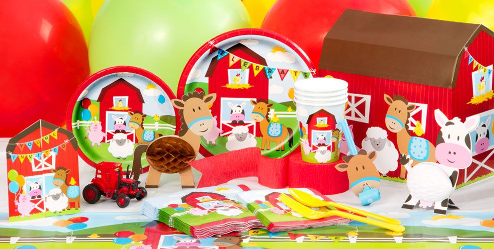 Farmhouse Fun Party Supplies