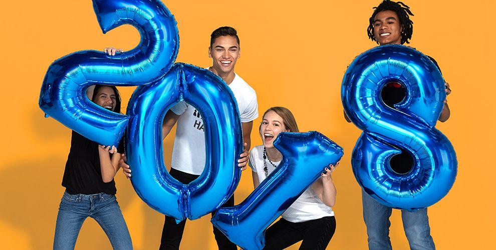 2018 Graduation Balloons