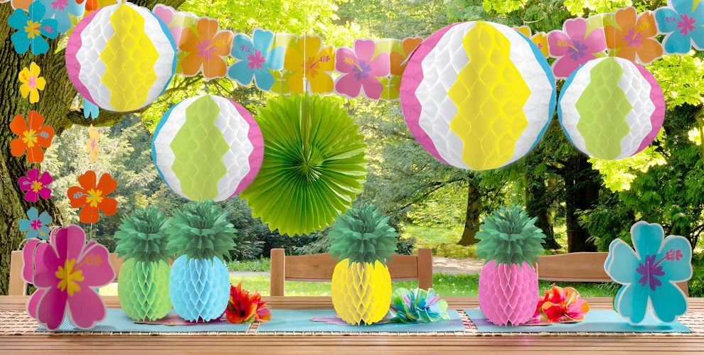 Beach Party Theme - Beach-Themed Party Supplies | Party City