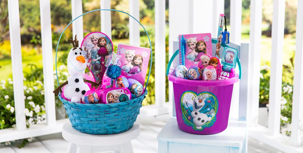 Build your own frozen easter basket party city build your own frozen easter basket negle Image collections