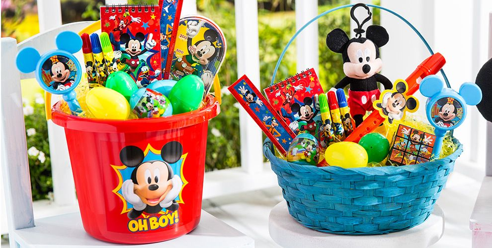Build your own mickey mouse easter basket party city build your own mickey mouse easter basket negle Image collections