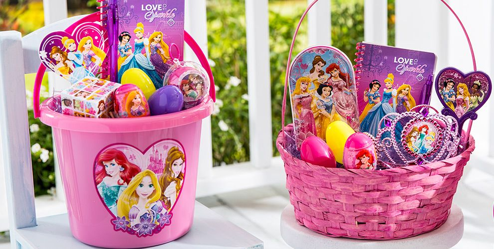 Build your own disney princess easter basket party city build your own disney princess easter basket negle Images