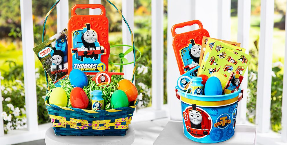 Build Your Own Thomas the Tank Engine Easter Basket