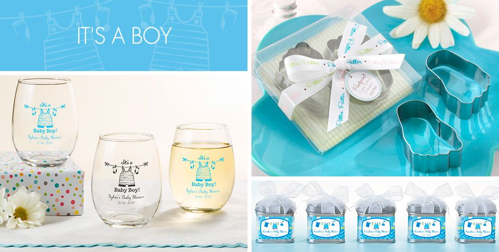 It's a Boy Baby Shower Party Supplies