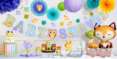 Perfect ... Woodland Baby Shower Party Supplies ...