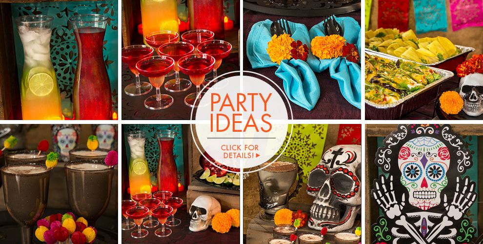 Day of the Dead Party Supplies – Party Ideas