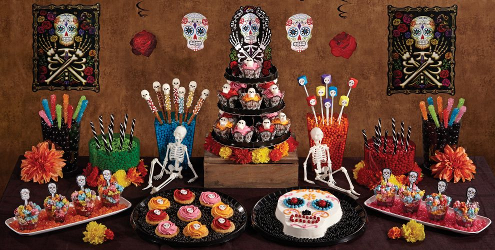 Day of the Dead Cake & Cupcake Supplies | Party City