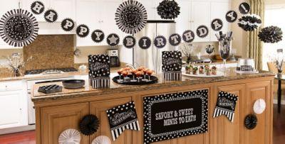 ... Black u0026 White Birthday Party Supplies ... & Black u0026 White Birthday Party Supplies | Party City Canada