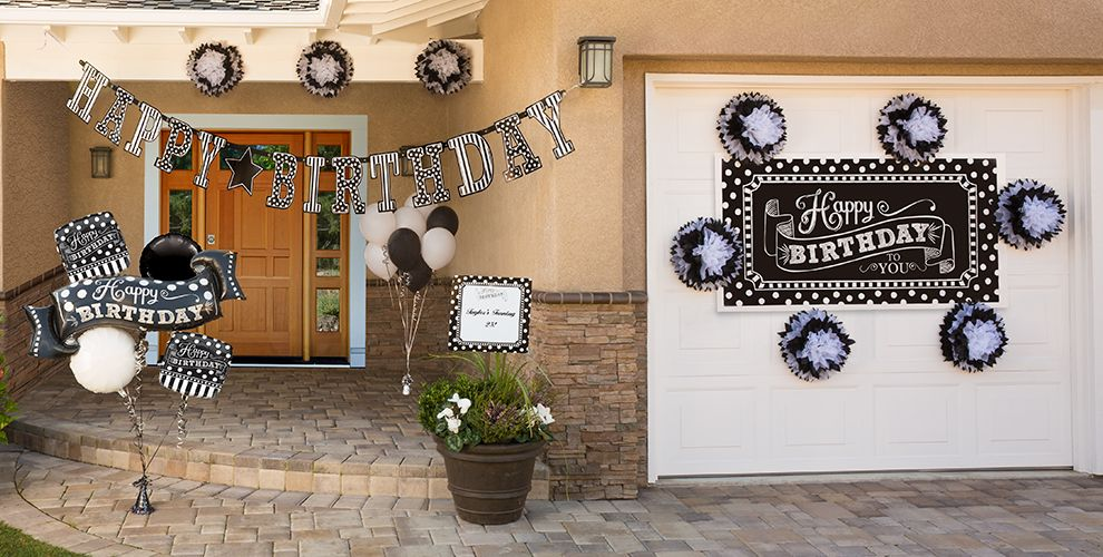 Black amp White Birthday Party Supplies City