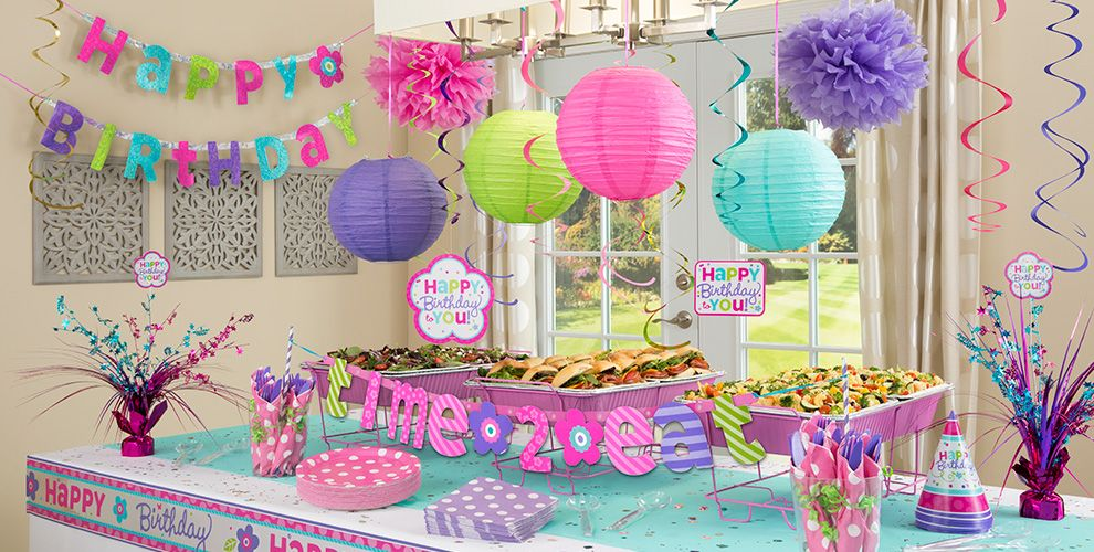 Pastel Birthday Party Supplies | Party City