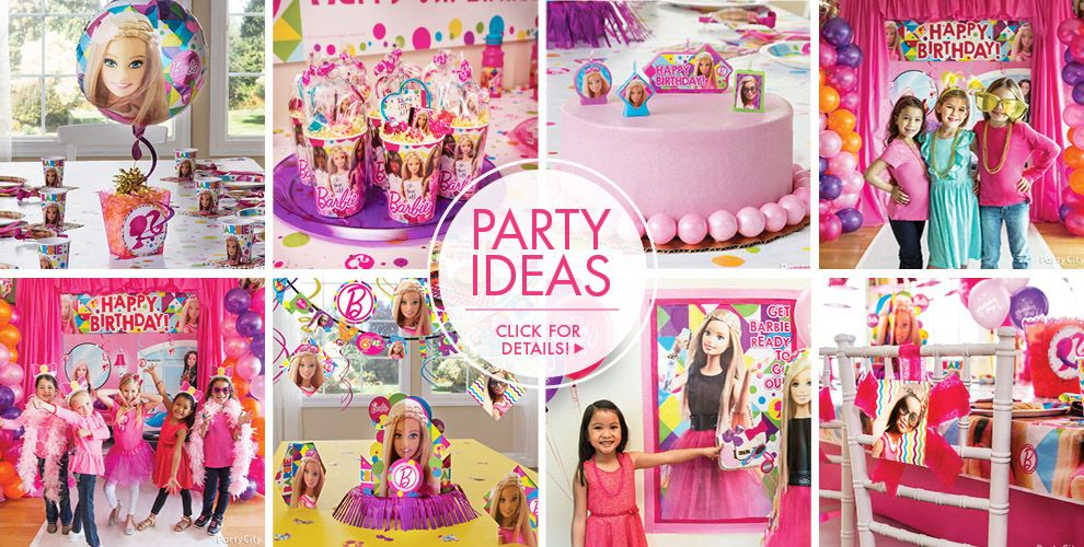 Barbie Party Supplies - Barbie Birthday | Party City