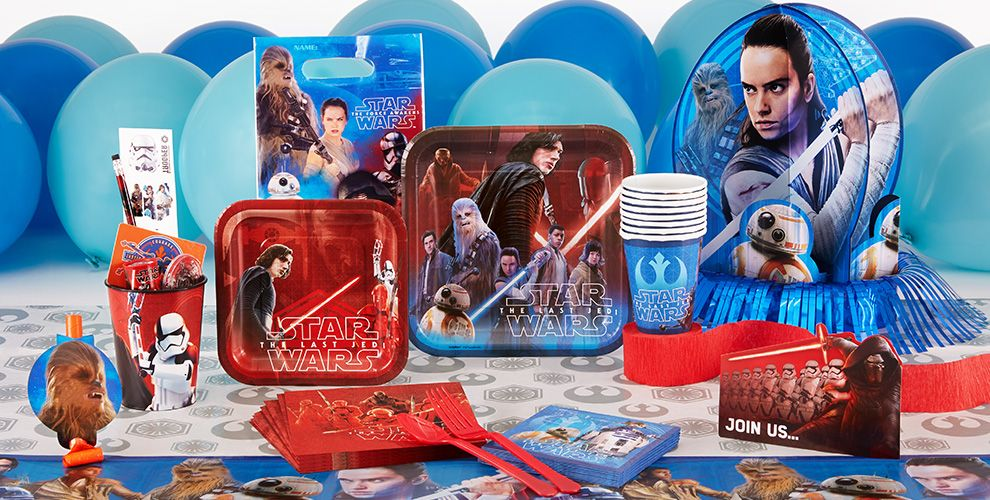 Star Wars Party Supplies - The Last Jedi
