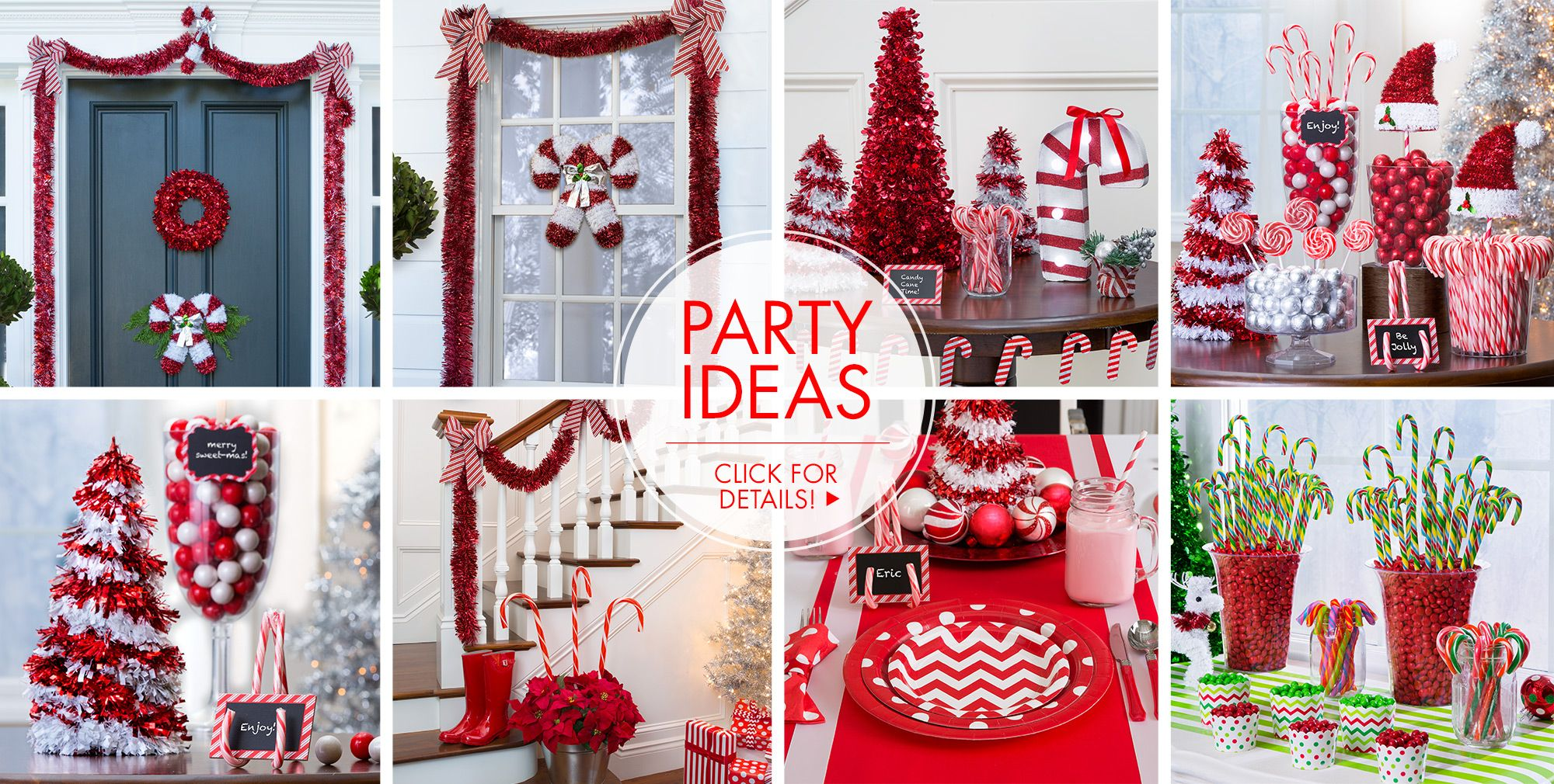 Candy Cane – Party Ideas