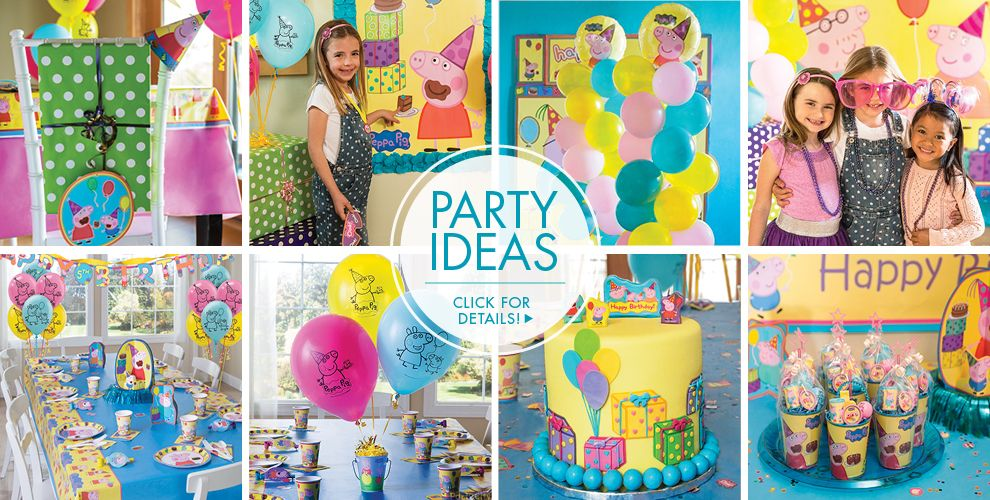 Peppa Pig Party Supplies - Peppa Pig Birthday | Party City