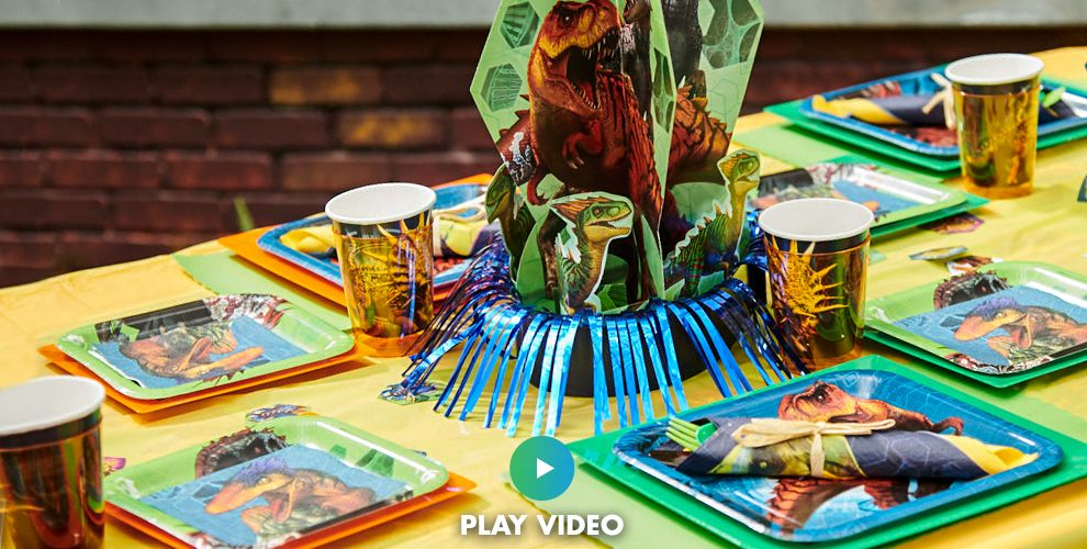 Jurassic World Tableware