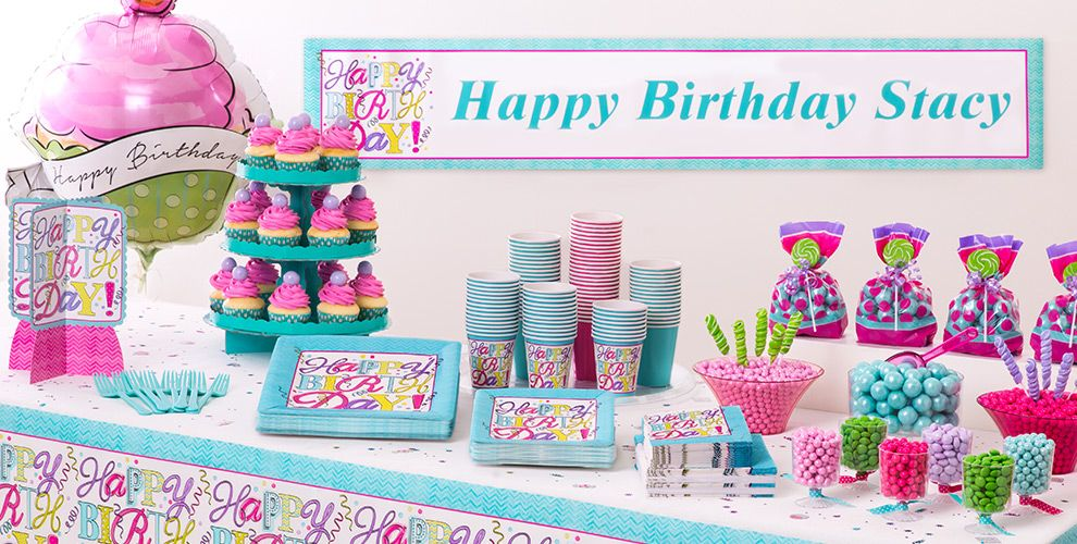 Sweet Birthday Party Supplies