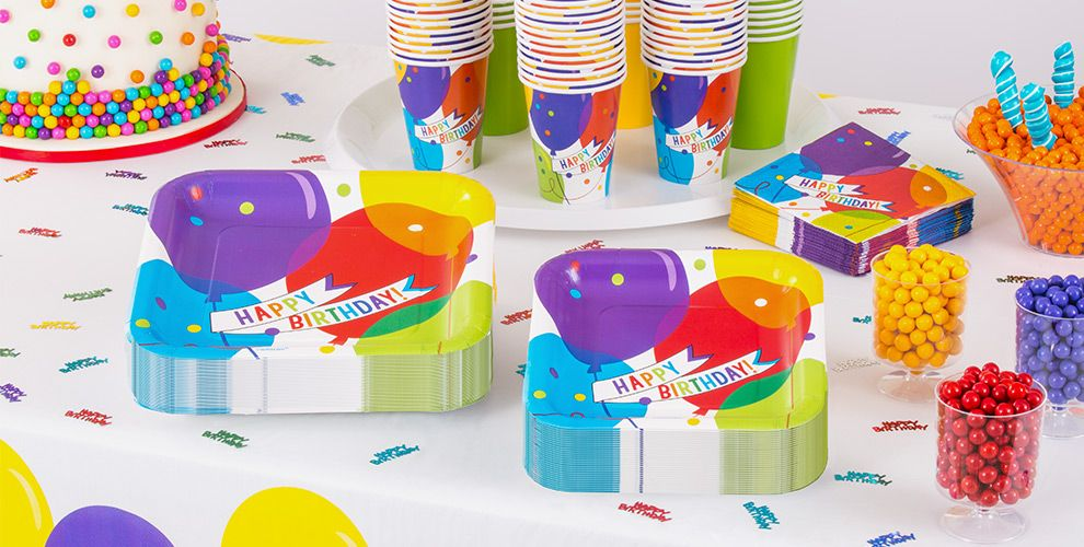 Balloon Bash Birthday Party Supplies