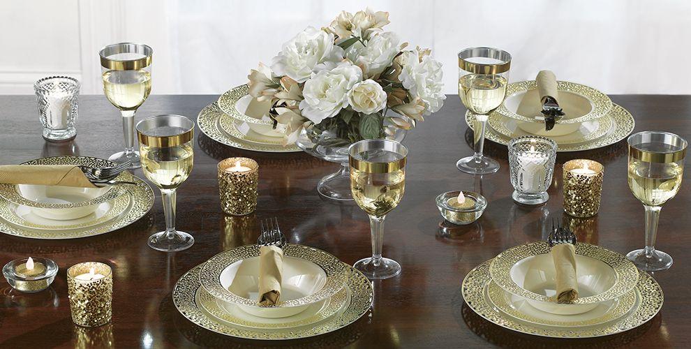 Cream Gold Premium Tableware