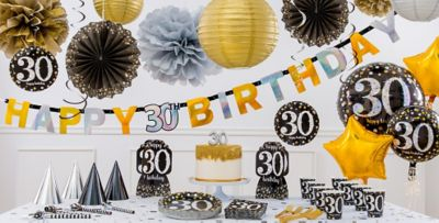 ... Sparkling Celebration 30th Birthday Party Supplies ... & Sparkling Celebration 30th Birthday Party Supplies | Party City