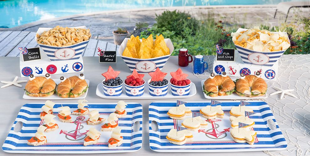 Beach Party Food Ideas Birthday