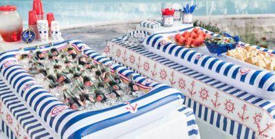 ... Nautical Party Supplies ...  sc 1 st  Party City & Striped Nautical Theme Party | Party City
