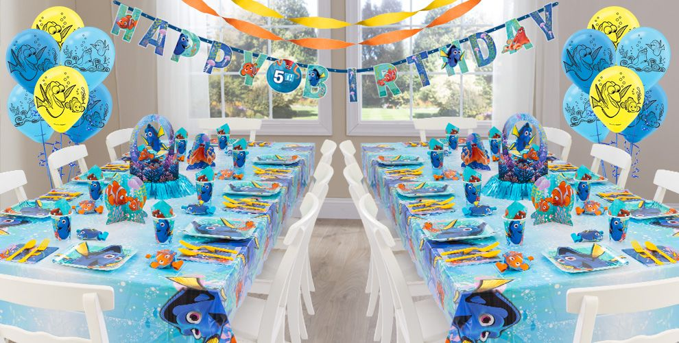 Finding Dory Party Supplies - Finding Nemo Party | Party City