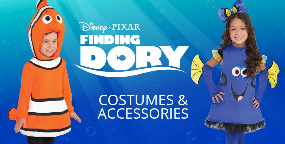 Disney Pixar Finding Dory Costumes & Accessories