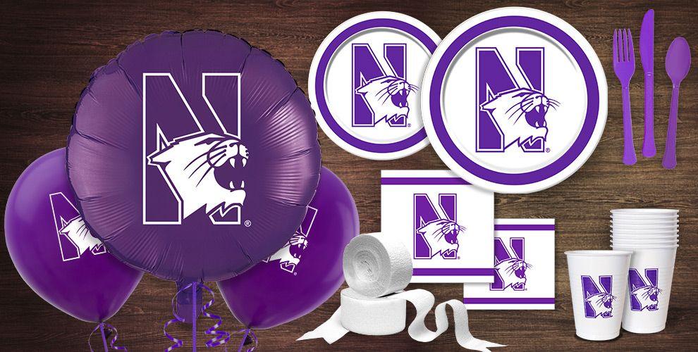 NorthWestern Wildcats Party Supplies