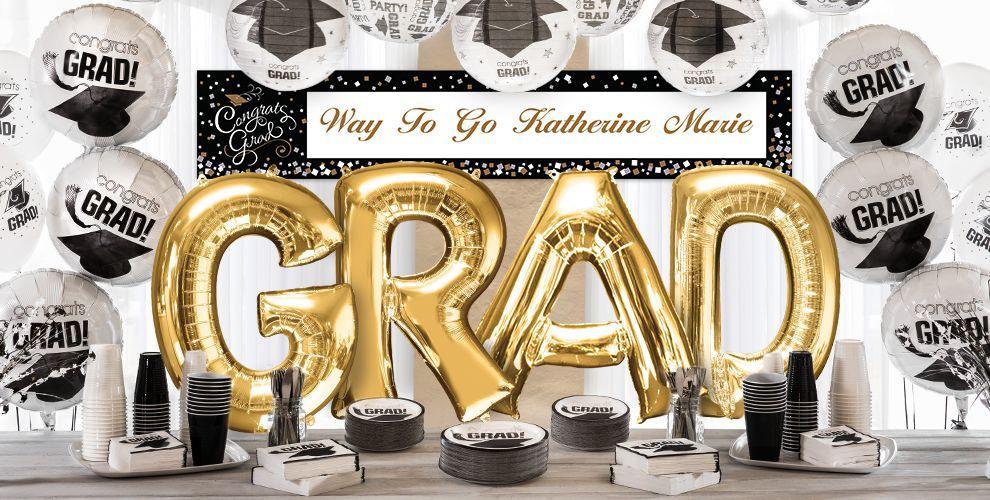Giant Gold Letter Balloons