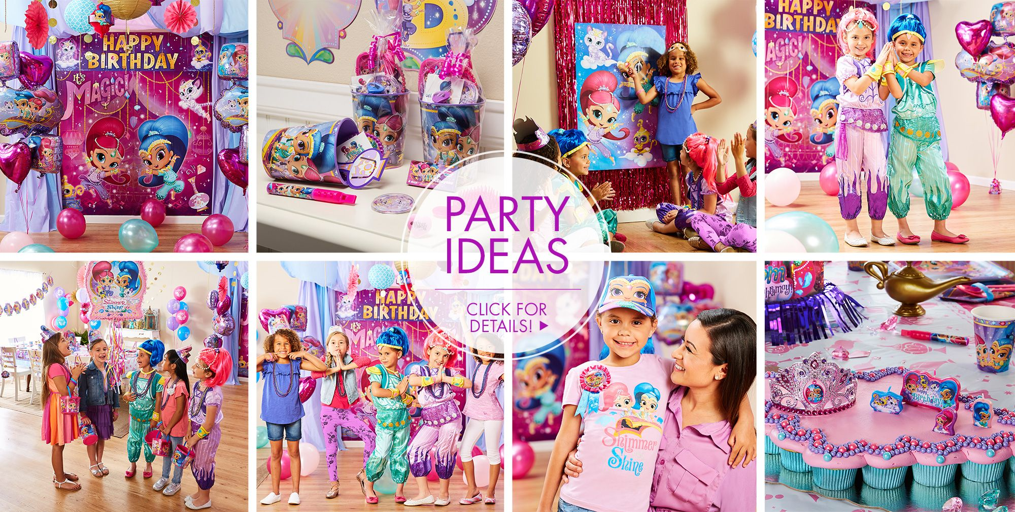 Shimmer and Shine Party Supplies – Shimmer and Shine Birthday Party ...
