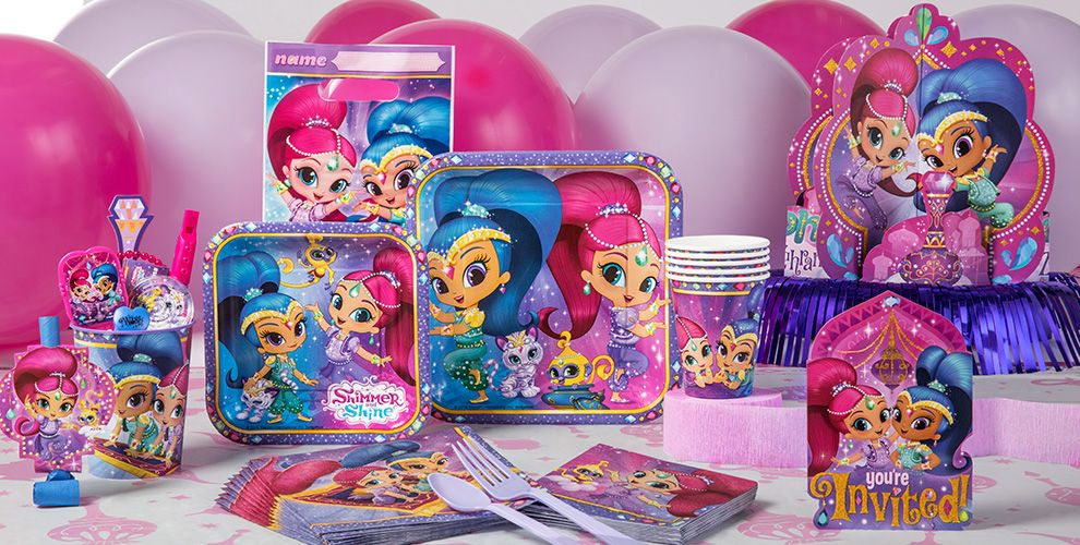 Shimmer and Shine Party Supplies